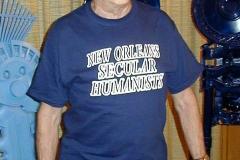 Harry models an early NOSHA T-shirt,circa 2003.